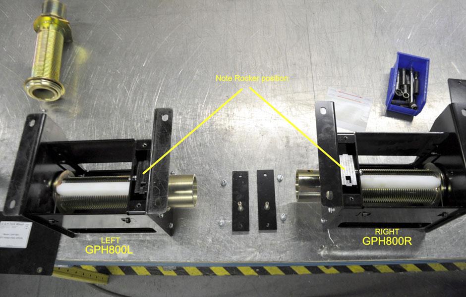 Stage Winch Engine GHP 800