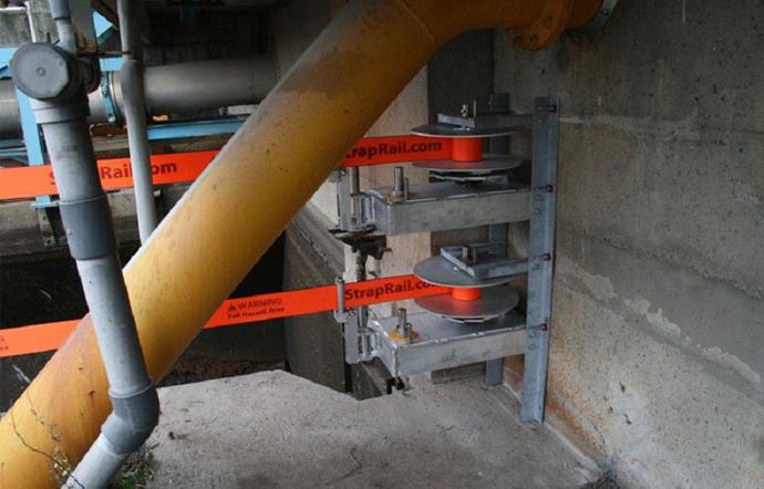 SRW 5000 Strap Rail Tensioning Winch